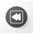 backward music icon symbol premium quality vector image