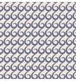Blue swirls seamless pattern vector image