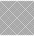 Seamless perforated texture vector image vector image