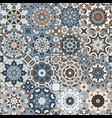 a set of brown tiles vector image