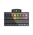 markers in box product vector image