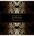 Invitation decorative mandala 02 vector image