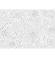 Christmas White Decoration vector image vector image