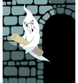 ghost steals the scroll vector image vector image