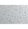 Background of water droplets vector image vector image
