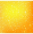 Gold background with dots vector image