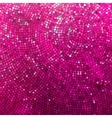 Amazing template design on pink glittering EPS 8 vector image vector image