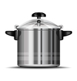 pressure cooker for cooking vector image