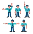 People Set - Profession vector image