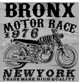 motorcycle t shirt graphic design vector image