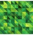 Green triangular grid pattern vector image