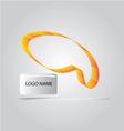 SHAPE CURVE LOGO vector image