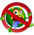 stop germ vector image