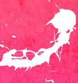 Bright Pink Paint Splash Background vector image vector image