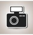 digital camera design vector image