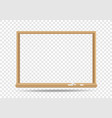 blackboard template transparent vector image