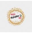 Valentines day - calligraphy typography badge It vector image