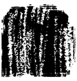 Black and white grunge texture vector image