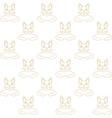 cat wallpaper vector image