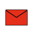 envelope sign vector image