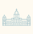 Iowa General Assembly vector image