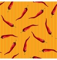 Red chili pattern vector image