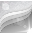 White papers with corner curl layer by layer vector image