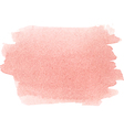 Abstract watercolor hand paint texture in pink col vector image