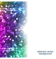 Abstract Colorful Disco Lights background vector image vector image