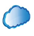 Web Cloud storage vector image