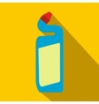 Detergent flat icon with shadow vector image vector image