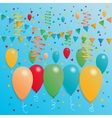 Celebration banner template vector image