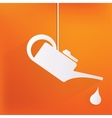 Oil lubricator icon vector image