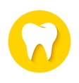 Tooth icon Dental logo vector image