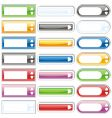 web internet buttons vector image vector image