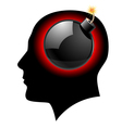 Creative ideas Bomb concept vector image