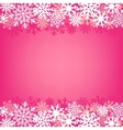 pink snow background vector image vector image