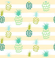 abstract pineapple pastel colors striped pattern vector image