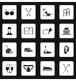 Accessibility icons set simple style vector image
