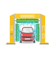 Car Wash Service Station vector image