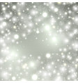 silver winter abstract background shine vector image