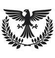 eagle coat of arms vector image
