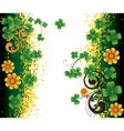 Background for st patrick's day vector