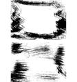 Grunge half vector image