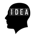 Creative ideas vector image