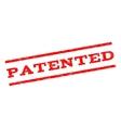 Patented Watermark Stamp vector image