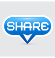 Share Button vector image