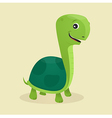 Cartoon style turtle vector image vector image