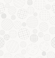 Geometric background with dotted and striped vector image