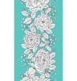 tea rose pattern vector image